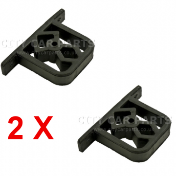 2 x BMW E46 EXHAUST RUBBER MOUNT HANGER BRACKET FOR REAR SILENCER 18207503246